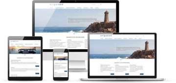 Unternehmenswebsite mit TYPO3