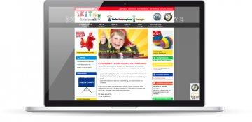 Webshop mit Magento