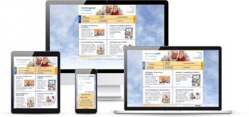 Die Website der Seniorenagentur Frankfurt wurde mit dem CMS Joomla umgesetzt