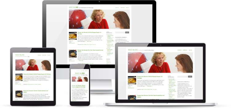 Ein Blog zu Ernährung und Gesundheit, umgesetzt mit Wordpress