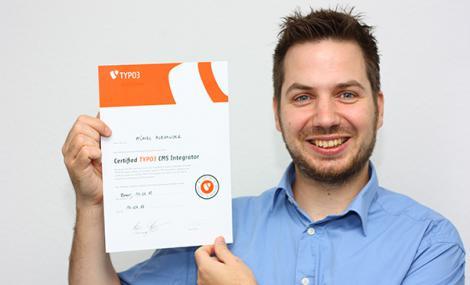 Alexander Künzl - zertifizierter TYPO3 Integrator
