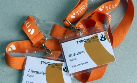 Lanyards TYPO3Camp München 2014